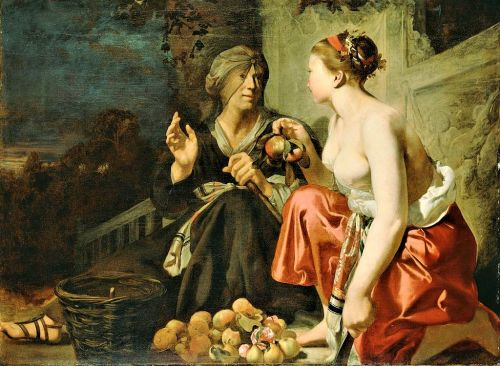 Celebrating the Earth's Bounty - Myth of Pomona & Vertumnus - Gardens, Orchards, & Finding Love