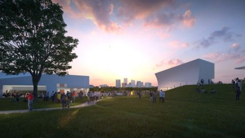 New Images Show Steven Holl's Expansion of the Kennedy Center Under Construction