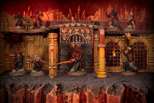 Showcase: Warcry Scions of the Flame warband