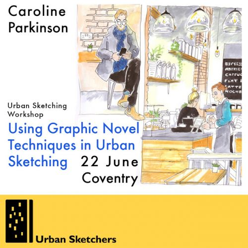 USk Workshop: Using Graphic Novel Techniques in Urban Sk