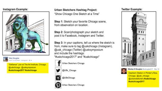 HASHTAG PROJECT: SHOW CHICAGO ONE DRAWING AT A TIME