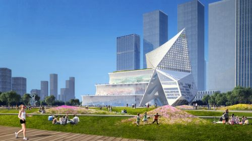 OMA Wins Competition to Design New Shenzhen Financial Center