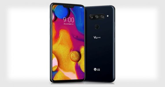 LG V40 ThinQ is the World's First Five-Camera Smartphone