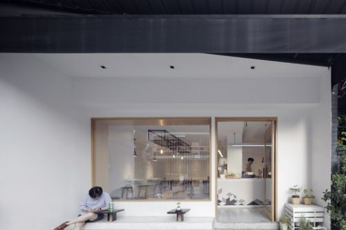 Invisible Coffee Room / I Like Design Studio