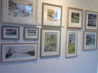 Current exhibition, paintings from Wales, Cornwall, Leicestershire, the Cotswolds and Yorkshire