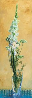 "Still Life Flower Painting ""Glad"" by Colorado Artist Nancee Jean Busse, Painter of the American West"