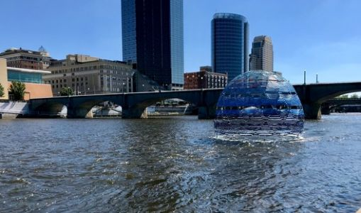 SLO Architecture Builds Floating Harvest Dome in Grand Rapids