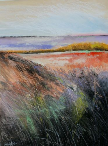 Marsh Morning, Large, by Carol Engles