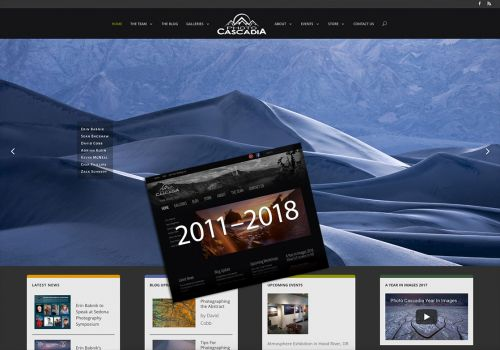 Introducing the New Photo Cascadia Website Design