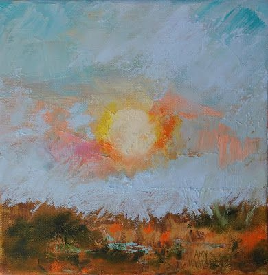"Abstract Landscape, ""Hot Summer,"" by Amy Whitehouse"