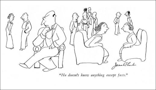 James Thurber, Writer and Nearly-Blind Part-Time Cartoonist