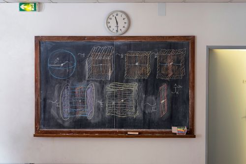 A Photographic Survey by Jessica Wynne of Chalkboards Filled by Mathematicians