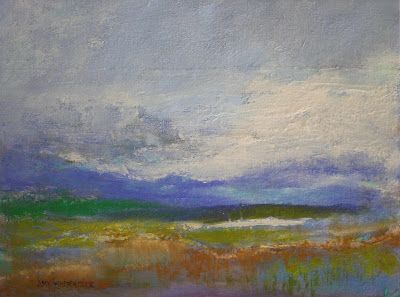 "Abstract Landscape, ""Wistful,"" by Amy Whitehouse"