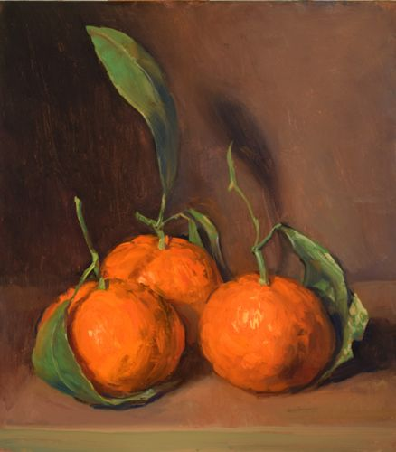 Three Satsuma Mandarins