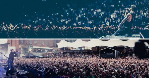 Concert Photographer Shoots Striking Bokeh Panoramas