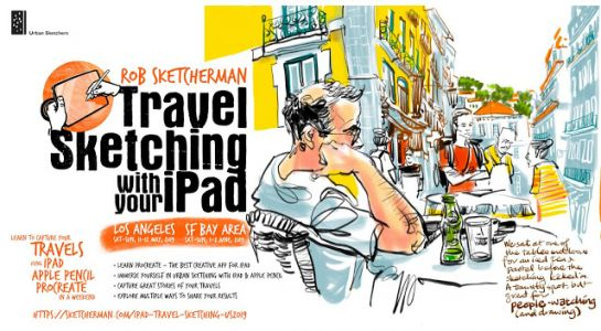 USk Workshop: Travel Sketching with your iPad