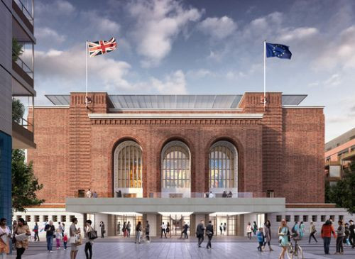 Rogers Stirk Harbour + Partners Gains Approval for Hammersmith Town Hall Refurbishment in London