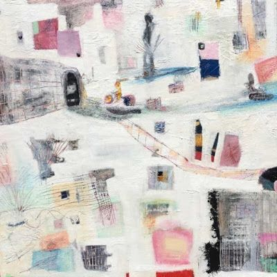 """Contemporary Art, Abstract,Expressionism, Studio 9 Fine Art """"Child of Illusion"""" by International Abstract Artist Amanda Saint Claire"""
