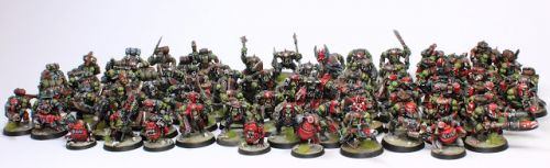 Showcase: A lot of Space Orks