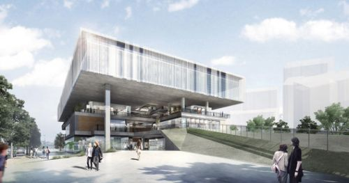 Benoy will Transform a Power Plant Into a Green, Art Center in China's Gongshu District