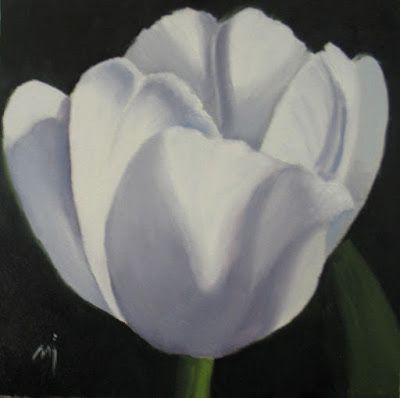 Soft White Tulip - SOLD