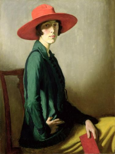 William Strang's Painting of People