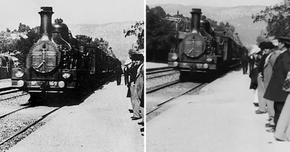 YouTuber Used AI to Upscale a Classic 1896 Short Film to 4K and 60fps