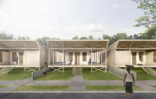 Architects Propose 120 Incremental Social Houses for Iquitos, Peru