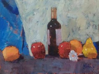 Still Life 11x14 acrylic on canvas