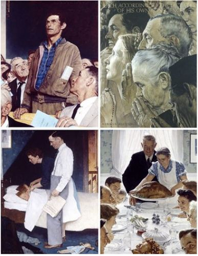 Norman Rockwell. Born on this day in 1894
