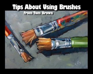 FREE PAINTING TIPS, VIDEO from TOM BROWN