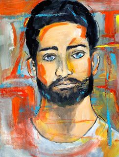 About The Guys-Contemporary Portrait Paintings by Arizona Artist, Sharon Sieben