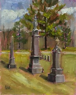 Cemetery Painting