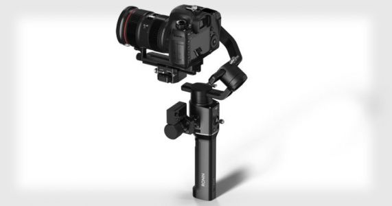 DJI's Ronin-S is its First One-Handed Stabilizer for DSLR and Mirrorless