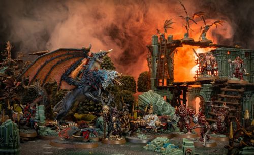 Showcase: Beasts of Chaos Chimera for Warcry