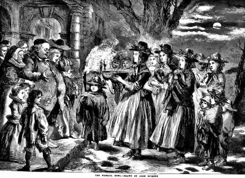 Christmas Wassailing as Social Protest in England & her North American Colonies