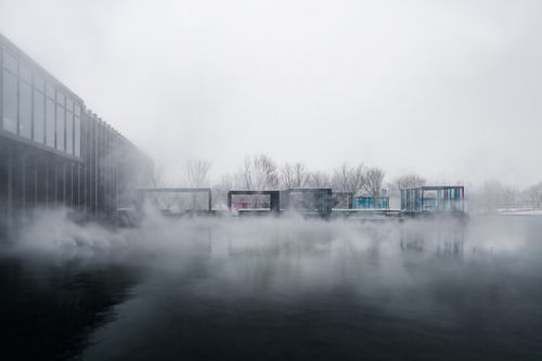 Mist Hot-spring Hotel / Department of Architecture co