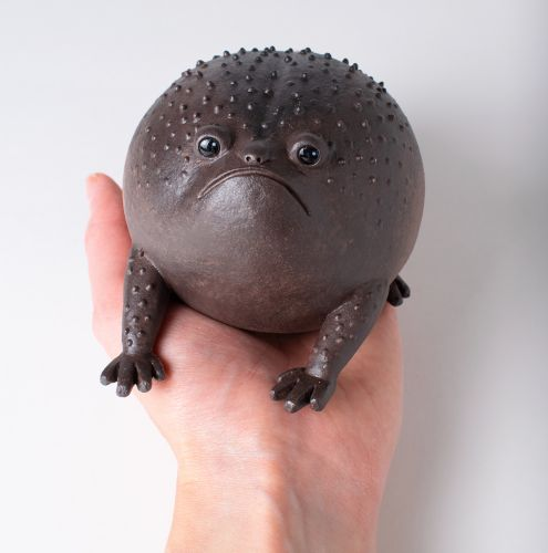 Ravenous Frogs and Surprised Bears Form an Adorably Expressive Ensemble of Ceramic Creatures
