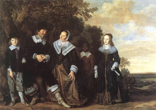 The 17C Family Portrayed Outdoors
