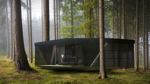 Nature Lovers Can Live Off-The-Grid With This Portable, Self-Powered Pod