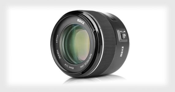Meike Unveils an 85mm f/1.8, Its First Autofocus Lens