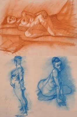 Life Drawing July/ August 2011