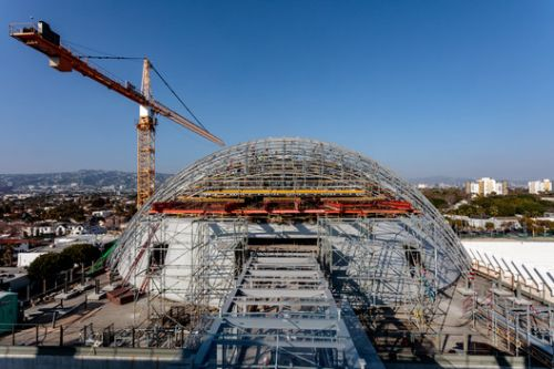 Renzo Piano's Academy Museum Nears Completion in Los Angeles