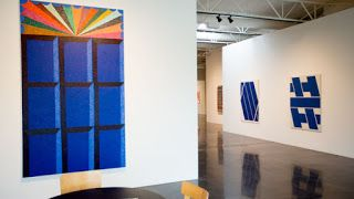 Linear Abstraction at Barry Whistler Gallery