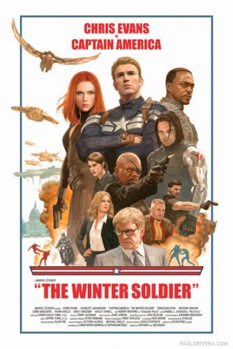 """""""The Winter Soldier"""" Poster Auction"""