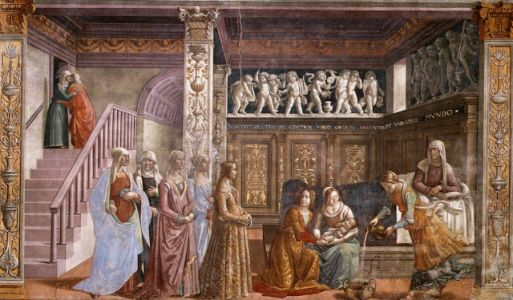 The Birth of Mary and domestic life in Florence