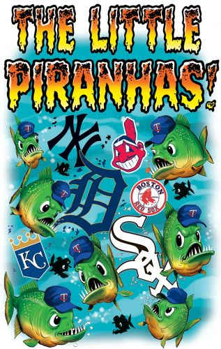 Illustration Throwback Thursday 52- The Little Piranhas!