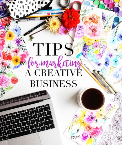 Tips for marketing a creative business