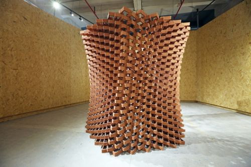 In China, an Experimental Pavilion of Ceramic Bricks Fuses Craftsmanship and Digital Fabrication