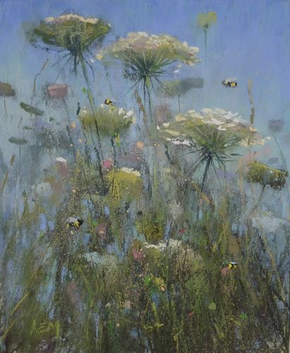 Adding Life to a Wildflower Painting